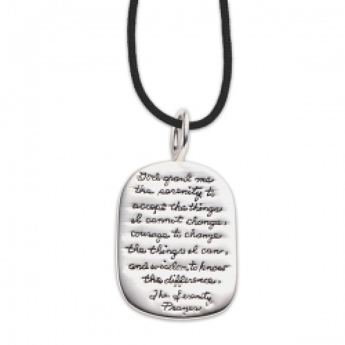 Serenity Sterling Unisex Necklace by BB Becker